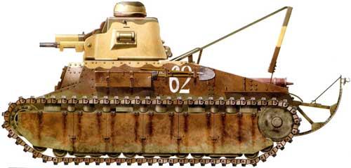 Франция - легкий танк. D1 - HTanks.3dn.ru - Франция - Танки ...